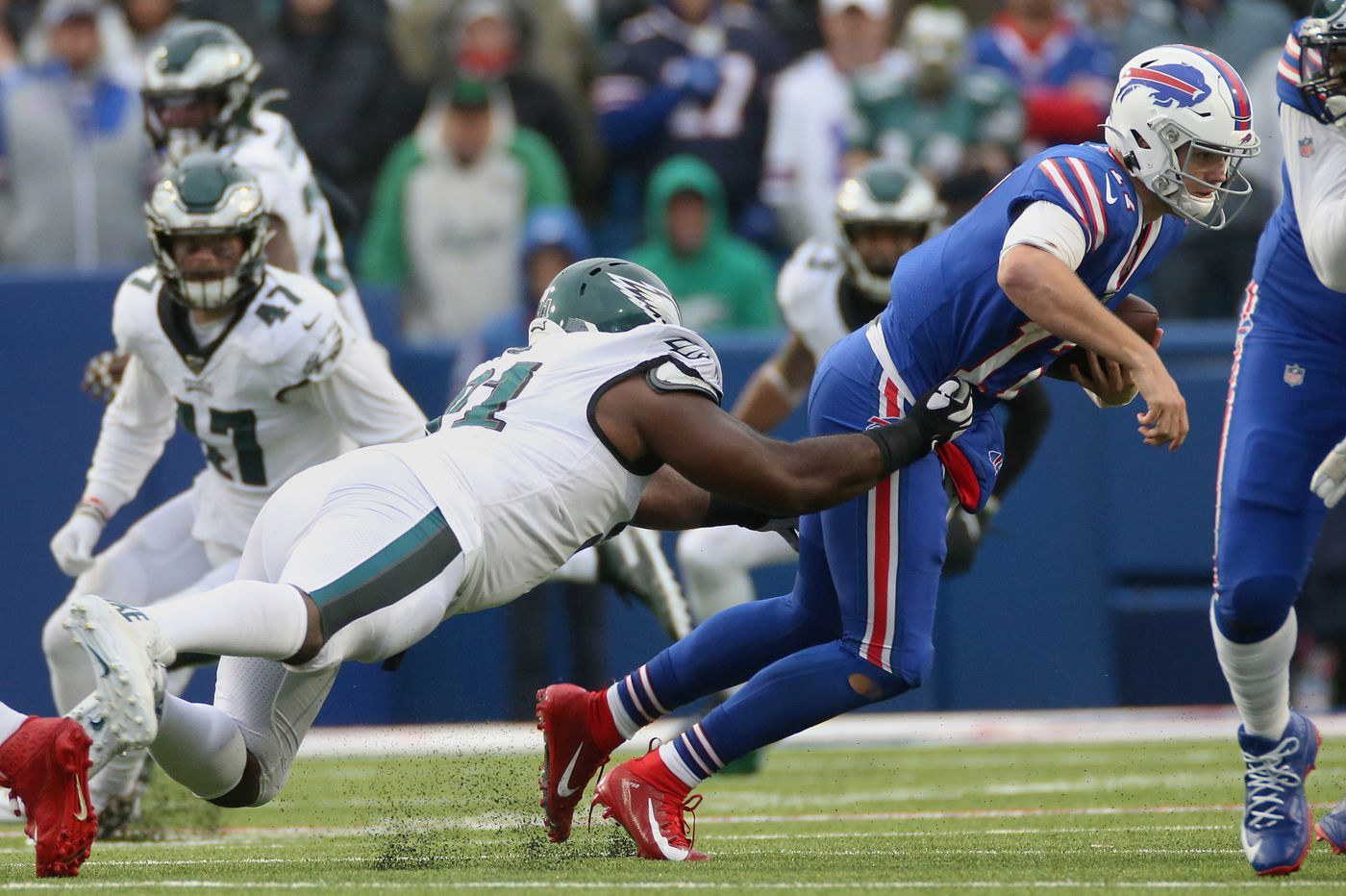 Should Eagles' win against Bills encourage them to buy at NFL trade deadline? | Early Birds
