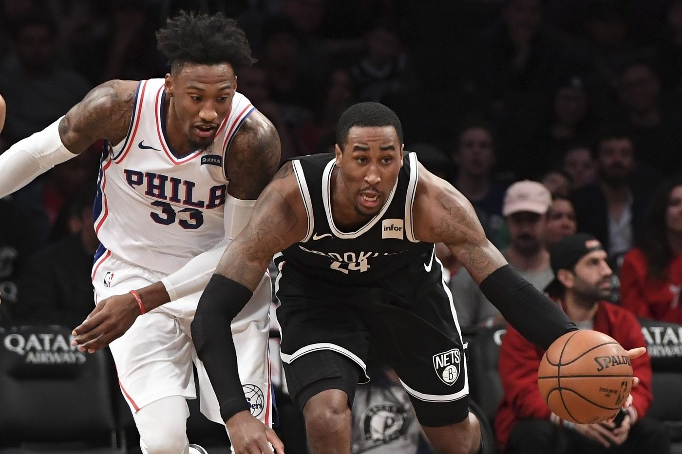 Sixers-Nets observations, best and worst awards: Rondae Hollis-Jefferson, Ben Simmons, and a lackluster effort