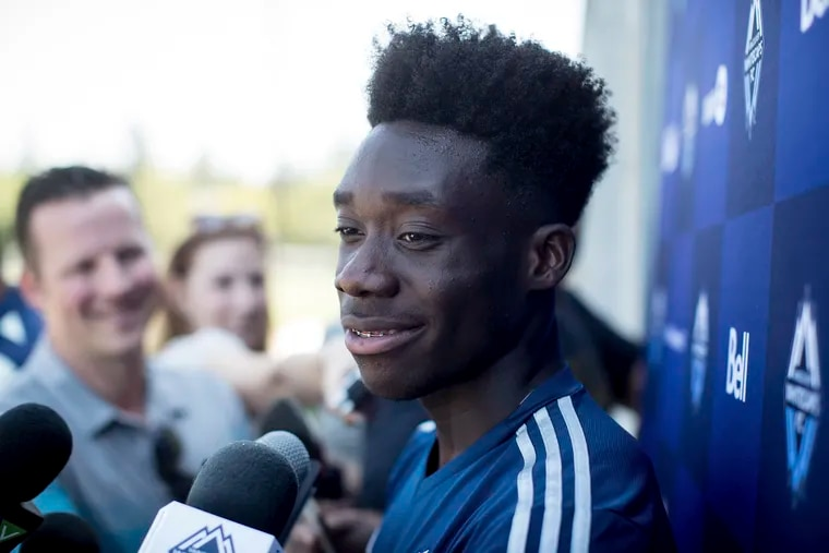 Alphonso Davies' move from the Vancouver Whitecaps to Bayern Munich set a record for the largest transfer fee in Major League Soccer history.