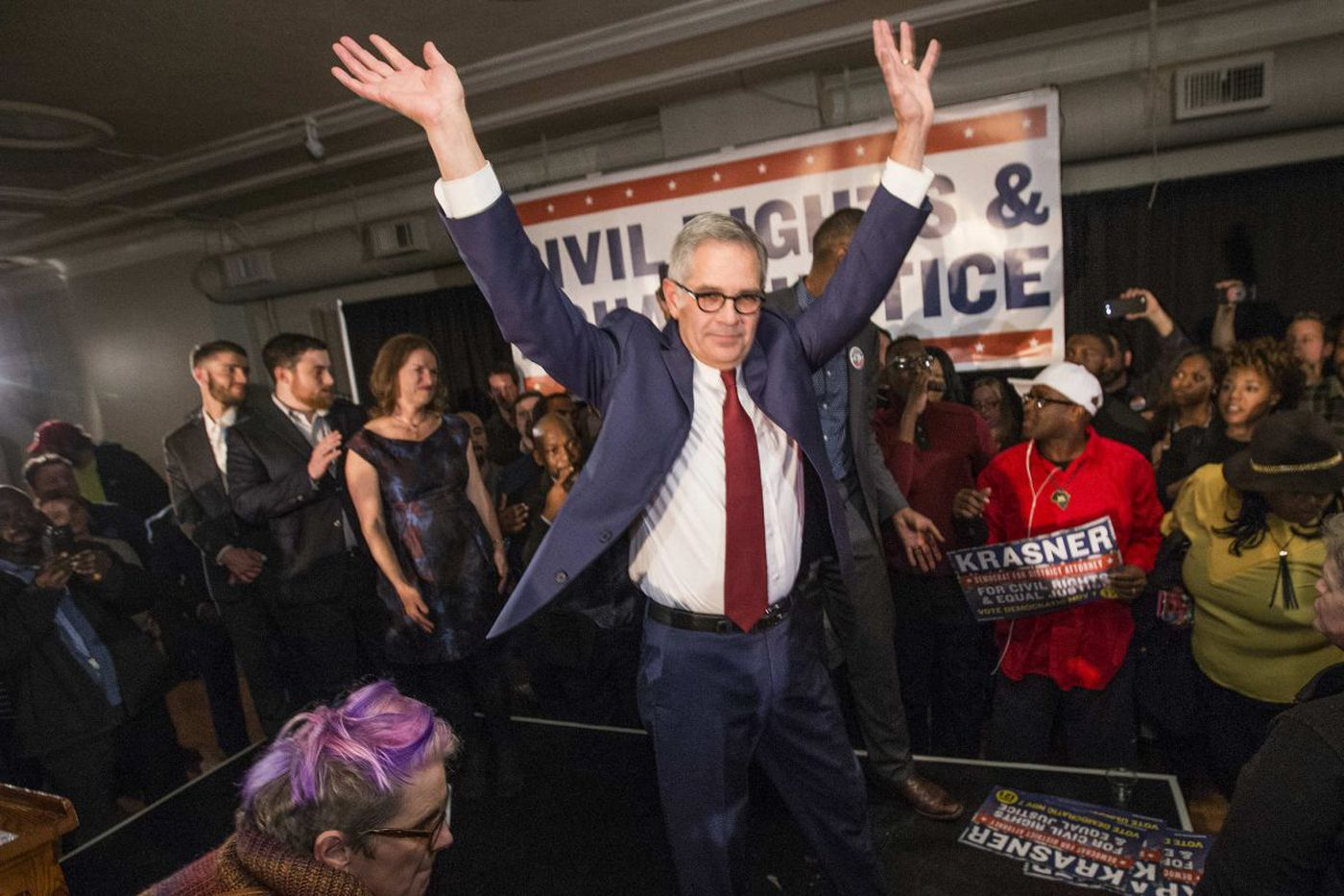 So Larry Krasner won the DA's race - now the work begins | Mike Newall