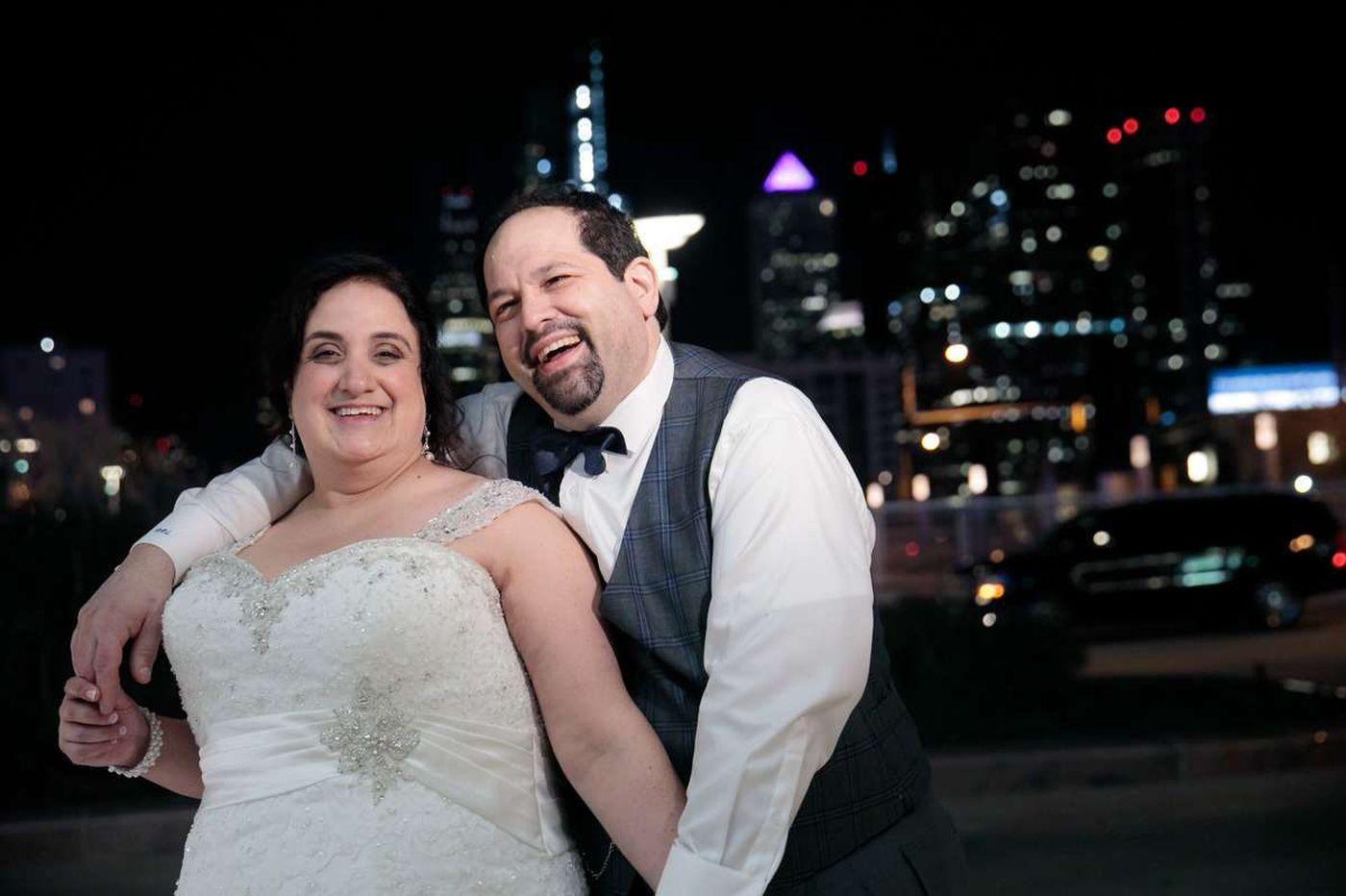 Philly weddings: Elena Cupingood and Dan Lisman