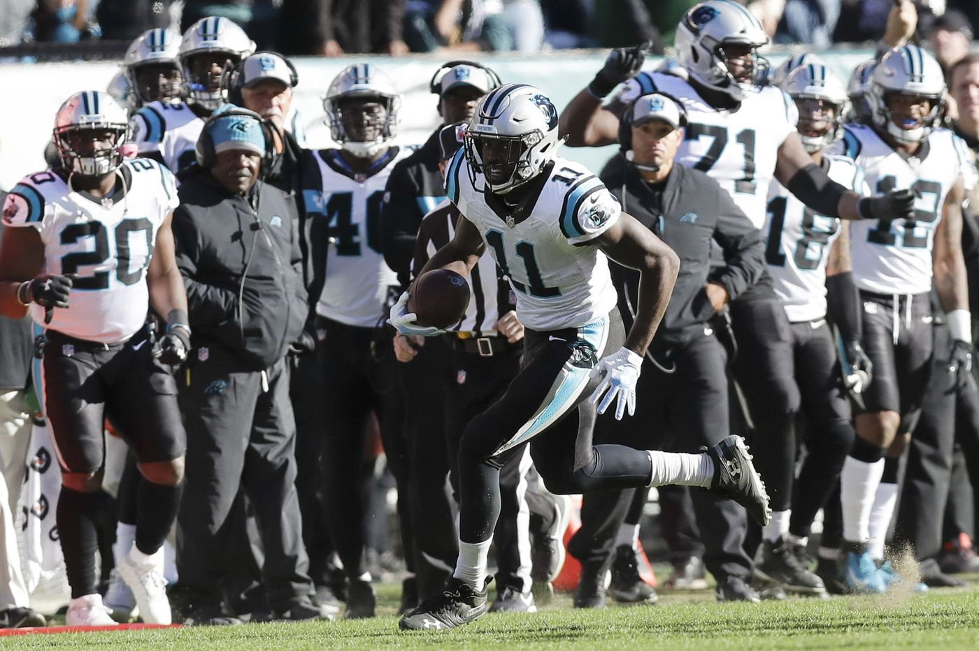 Panthers offense on Eagles' fourth-quarter collapse: 'They got comfortable. They got too relaxed'