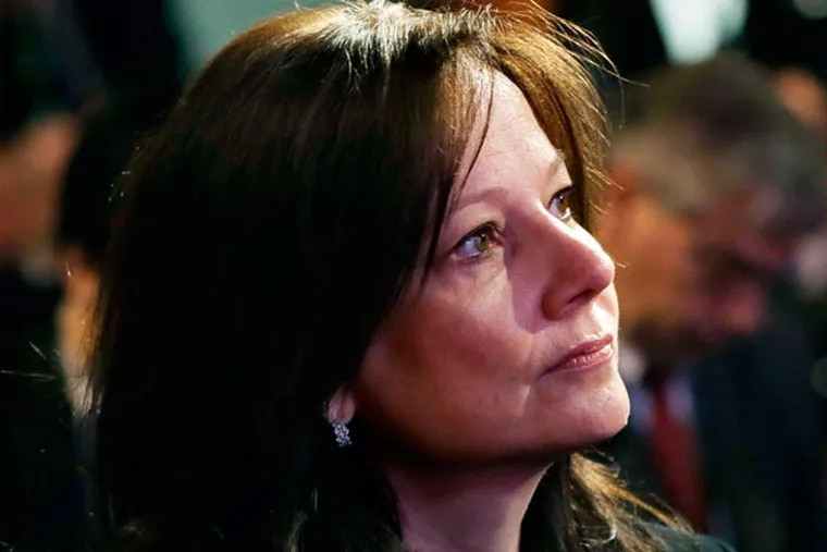 Mary Barra, 51, has worked for three years as General Motors' product chief. She joined the company in 1980 as an engineering student and has served in a variety of executive roles.