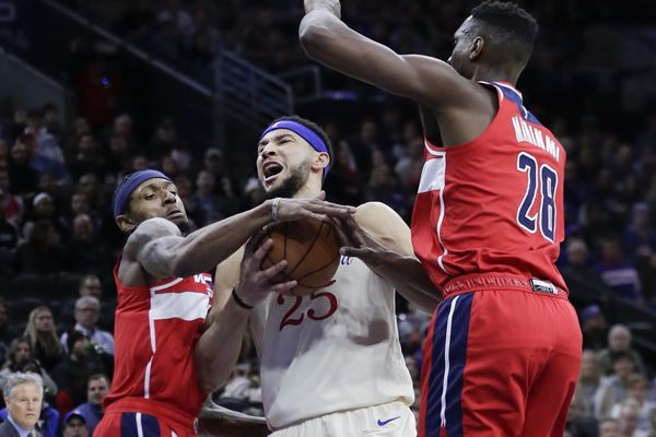 Sixers end skid by routing Wizards, 125-108