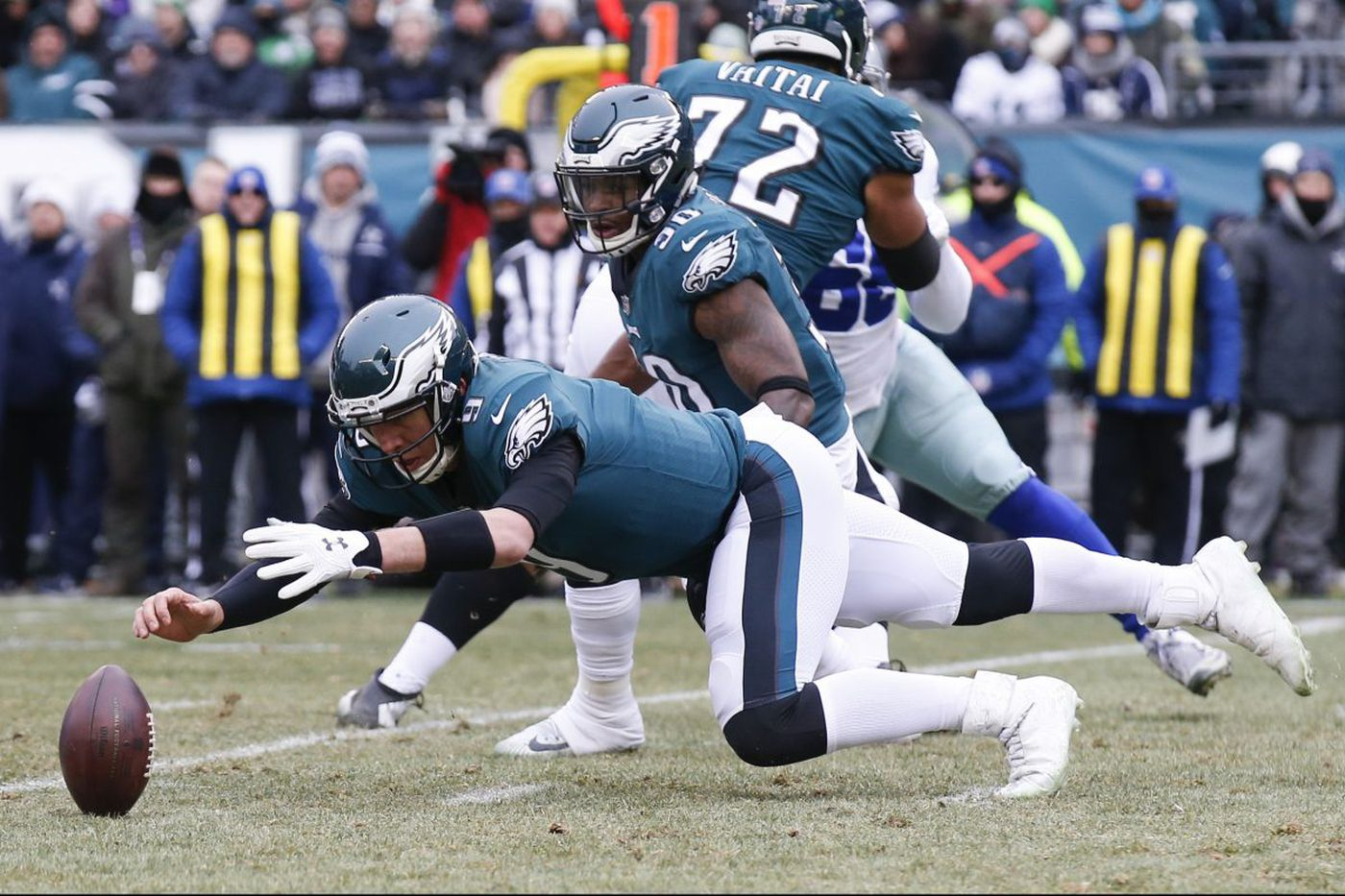 Eagles QB Nick Foles doesn't look as confident as he says he is   What We Learned