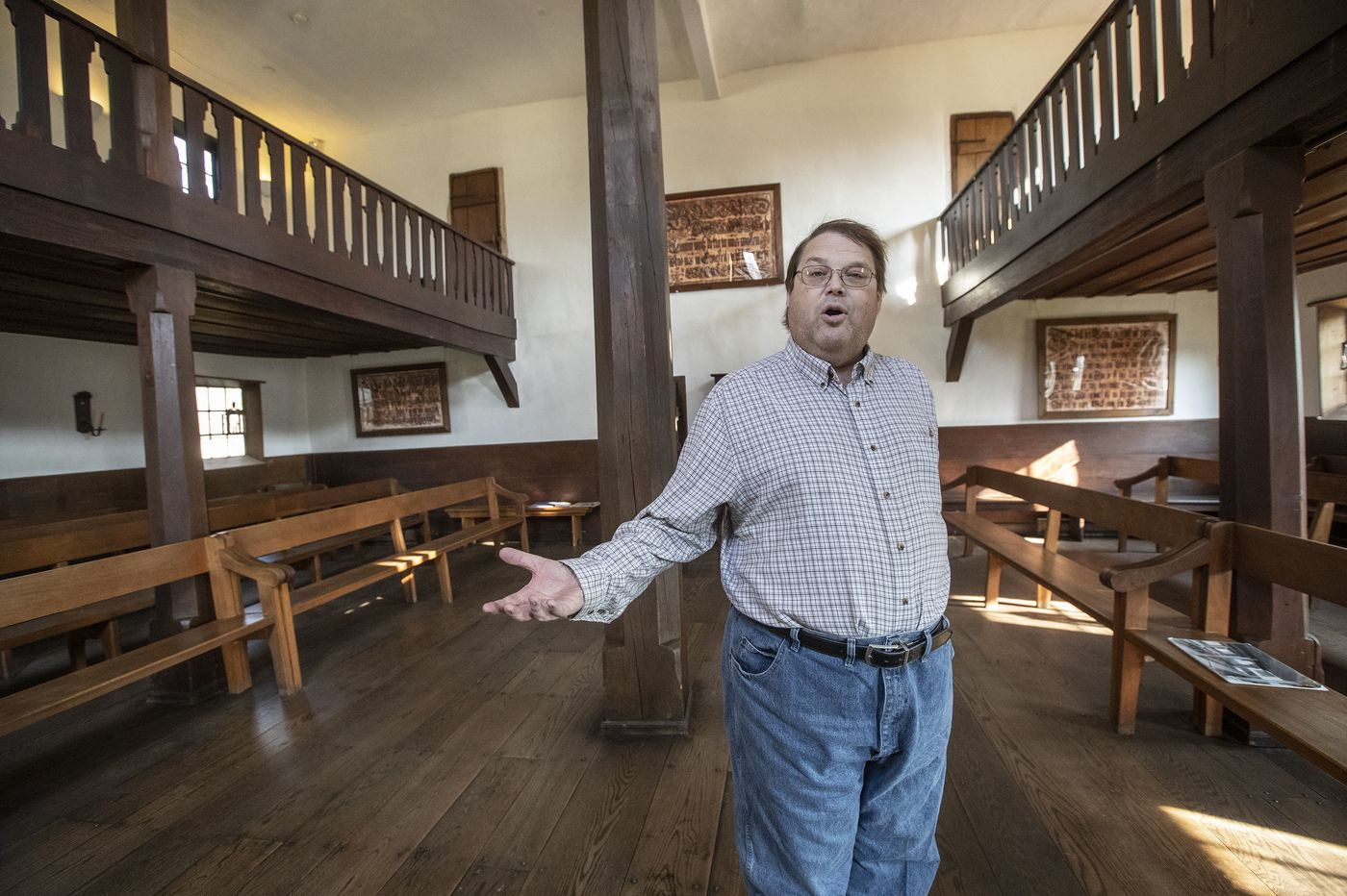 In Pennsylvania's conservative heartland, a historic cloister explores the immigrant struggle