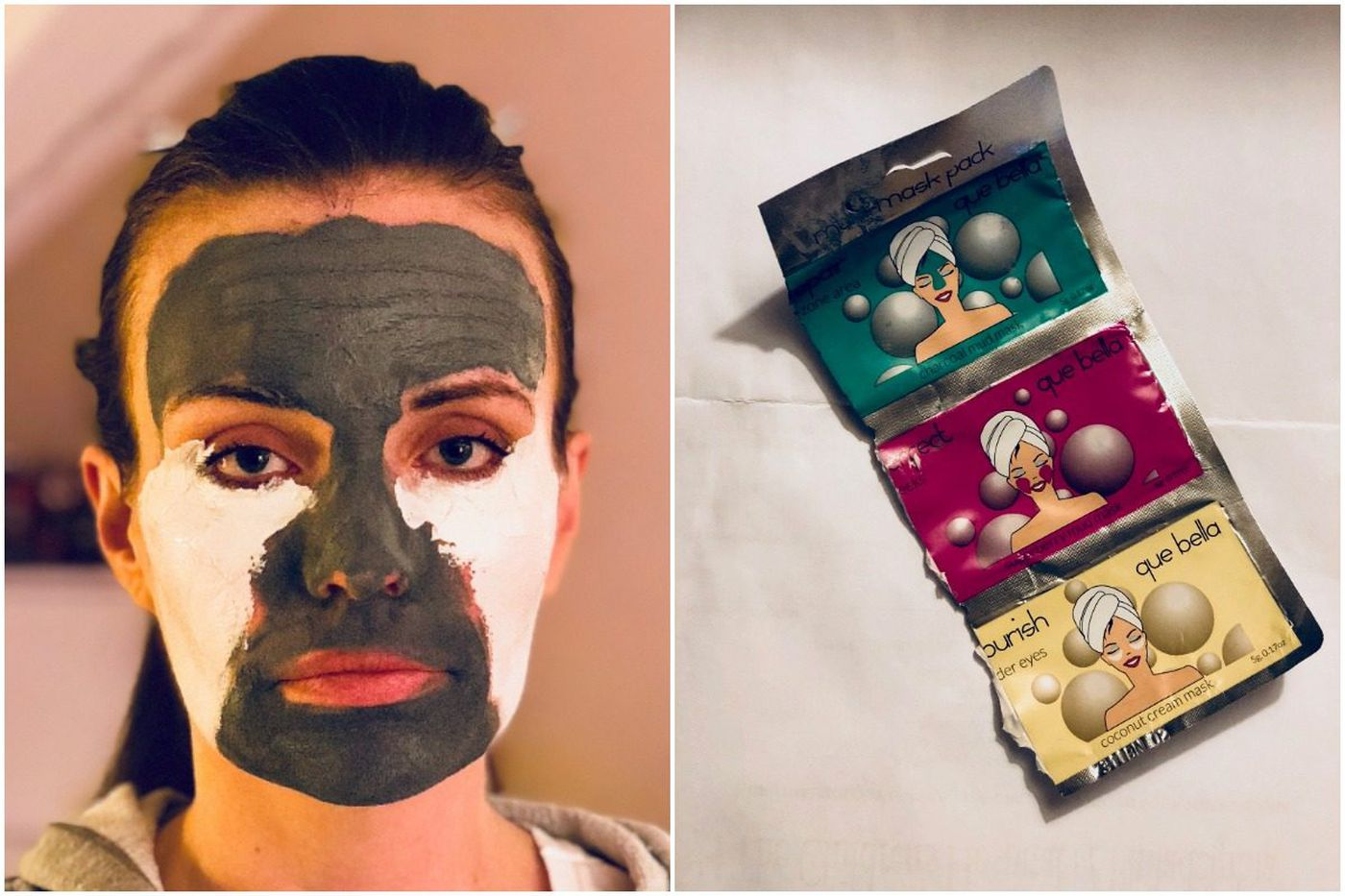 Multiple masks for multiple skin concerns