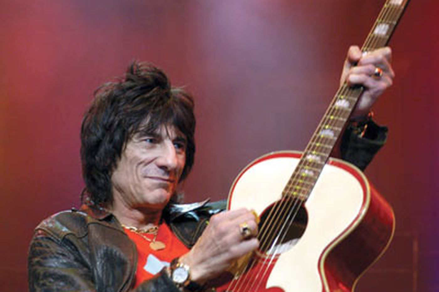 Ron Wood can do Atlantic City solo gig