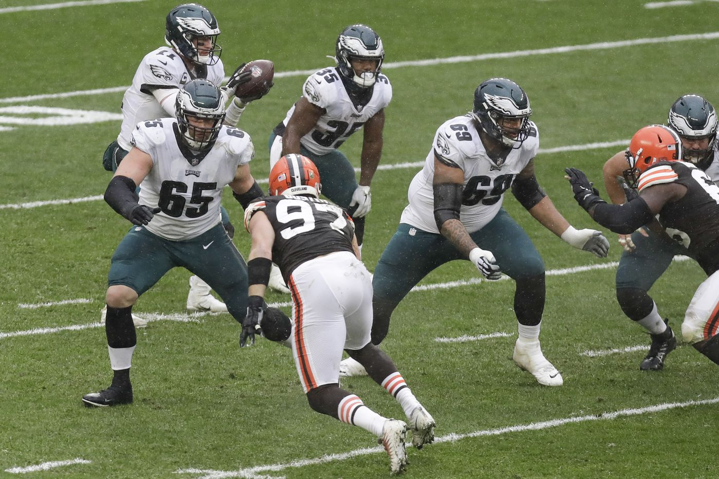 Lane Johnson out for season-ending ankle surgery; Eagles offensive line shake-up imminent