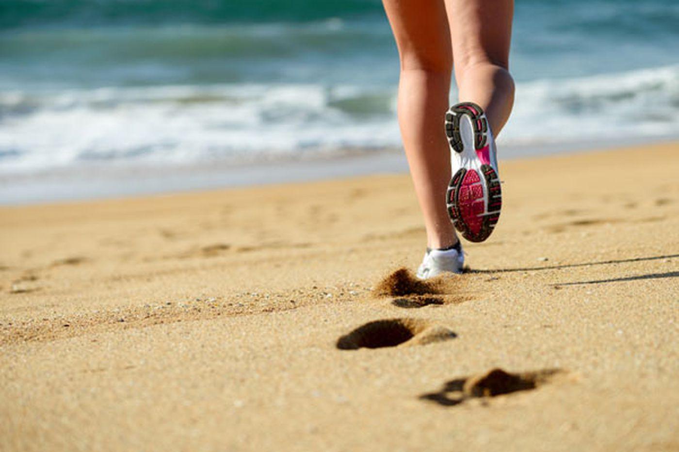 Running: Pier Pressure? Go Run a Mile on the Beach