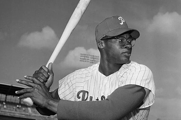 Dick Allen, in March 1964, was a good teammate to several Phillies.