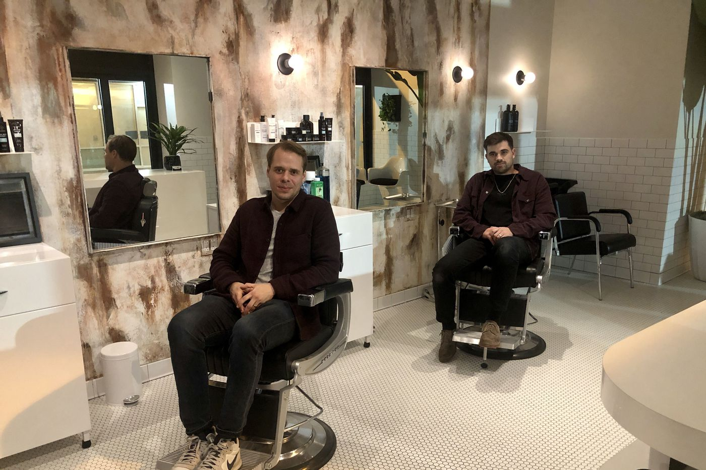 Hair it is: Bryce Harper's barbershop-bar, Blind Barber, opens in Center City