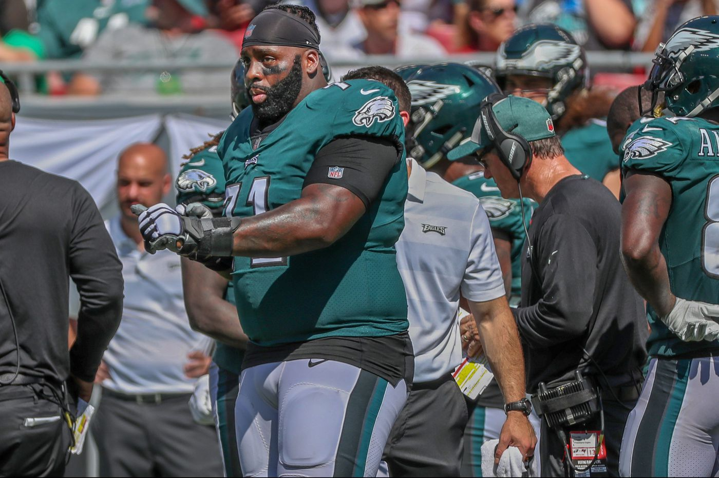 1062067e309 Eagles offensive line coach Jeff Stoutland doesn't think Jason Peters will  miss time