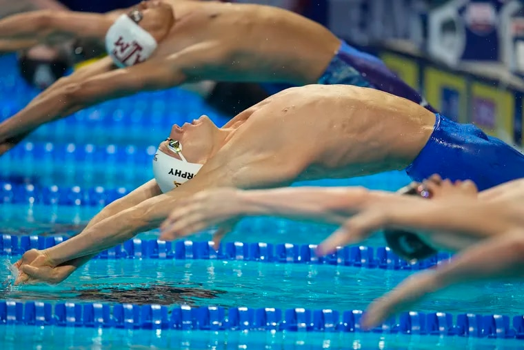 Defending Olympic backstroke champion Ryan Murphy of the United States will go for another gold medal Monday in the men's 100-meter backstroke final in the Tokyo Olympics.