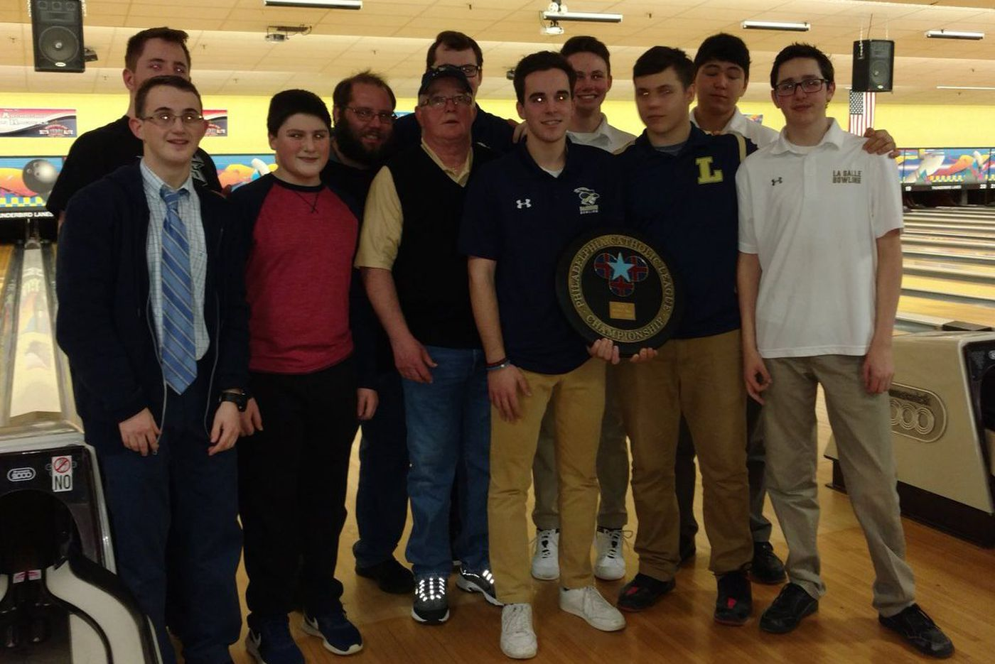 La Salle rolls to Catholic League boys' bowling title