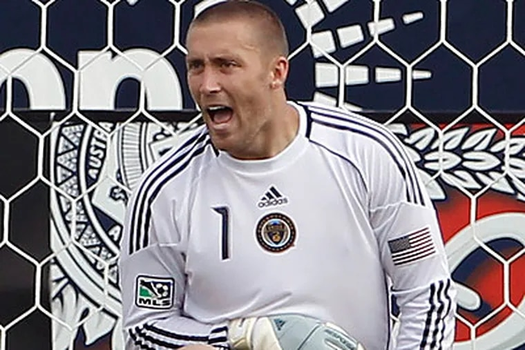 Chris Seitz has played every minute this season for the Union. (Yong Kim/Staff file photo)