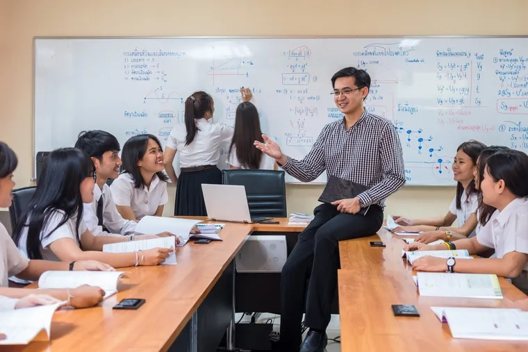 Asian teachers comprise only 2 percent of the teacher labor force although nearly 6 percent of public school students identify as Asian.