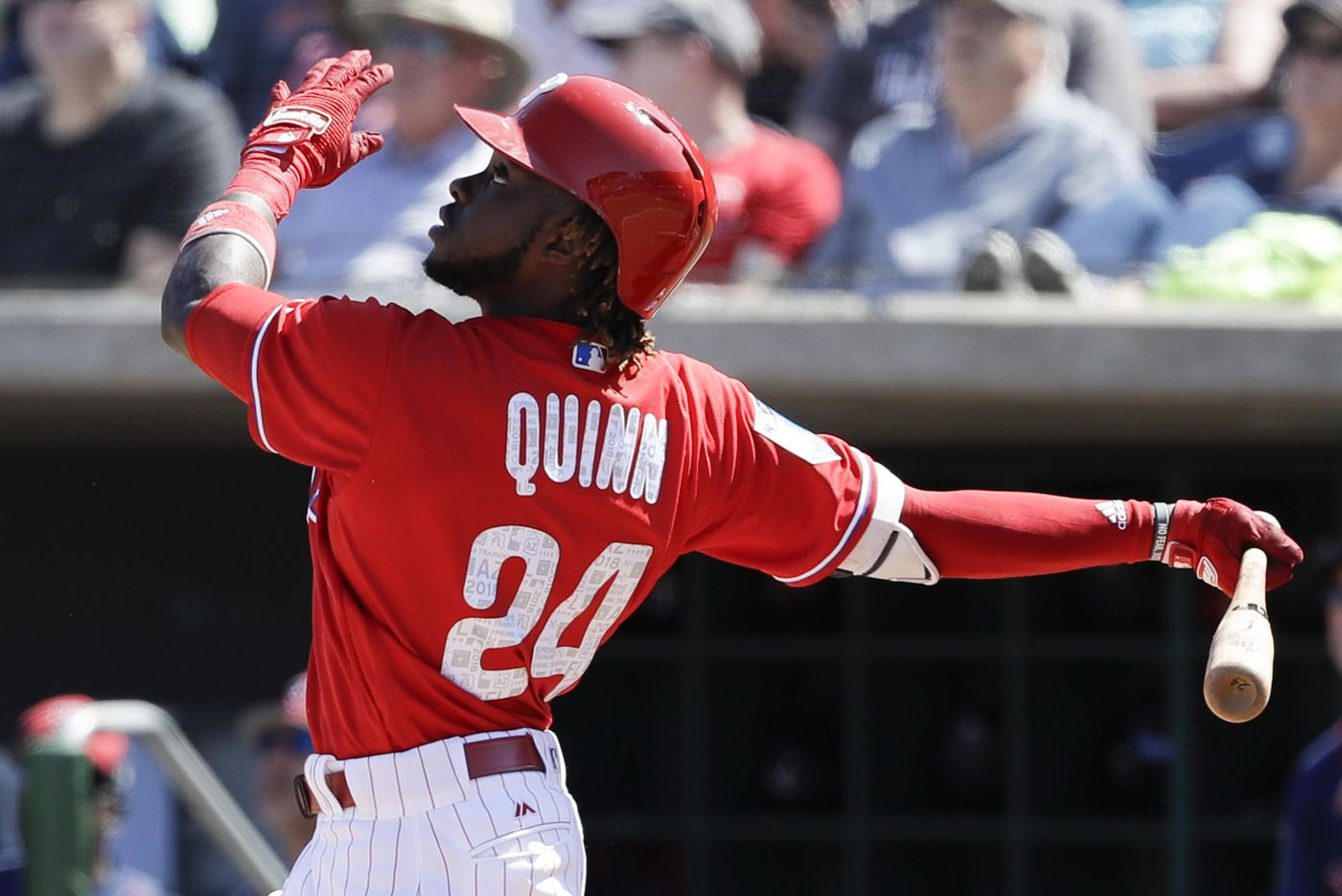 Phillies considering a promotion for Roman Quinn