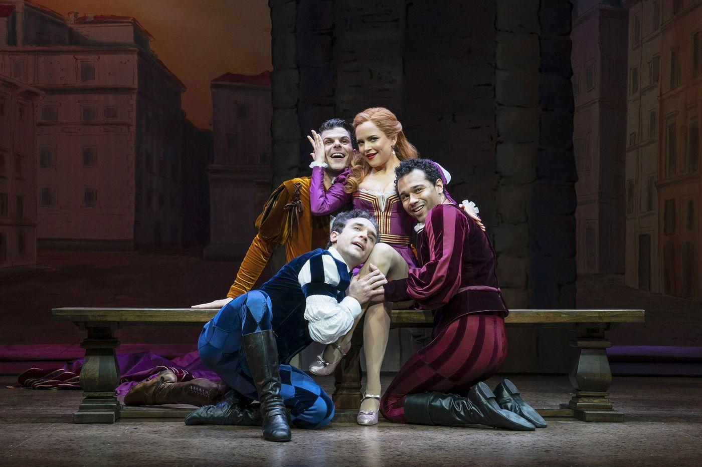 'Kiss Me, Kate' at the Roundabout Theatre Company: Vexing relaunch of witty Cole Porter take of vexing Shakespeare
