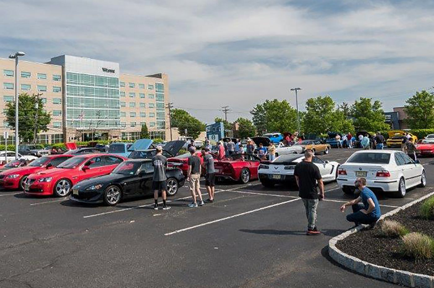 A club for people who love cars, coffee, and kids