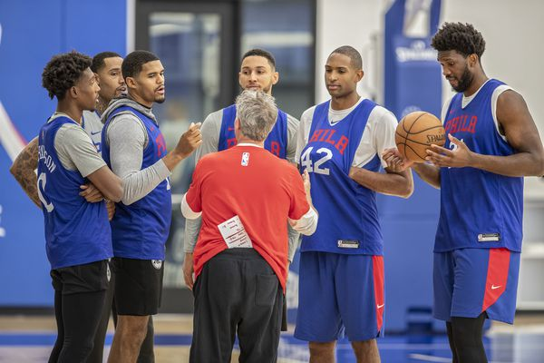 Forget the NBA trade deadline. The improvement the Sixers really need is from Brett Brown and his starting five. | David Murphy