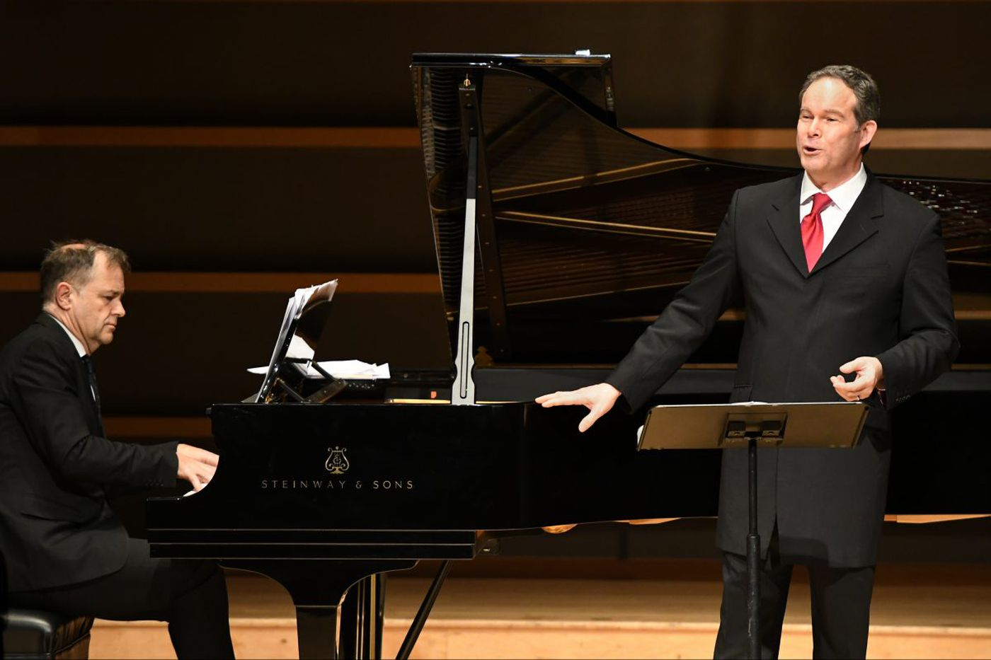 Partnership of equals: pianist Julius Drake and bass-baritone Gerald Finley