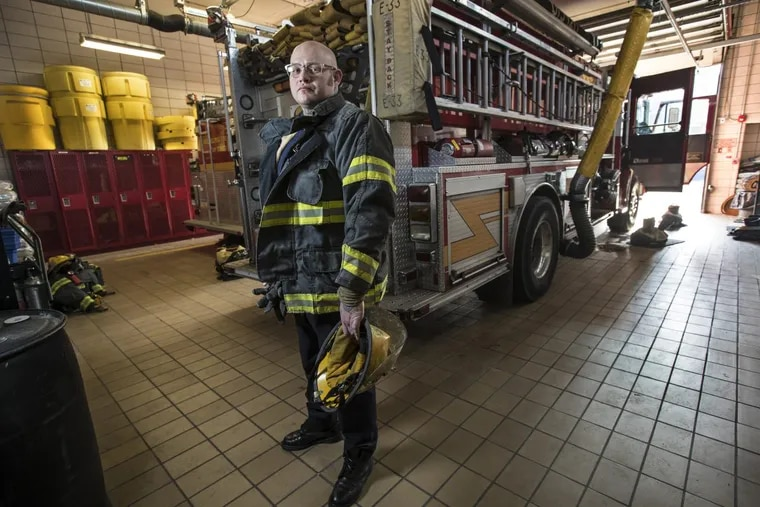 Derrick Moffett is a Philadelphia Firefighter and is assigned to Engine 33 in the Bridesburg section of the city. He was diagnosed with testicular cancer in Sept. 2016.
