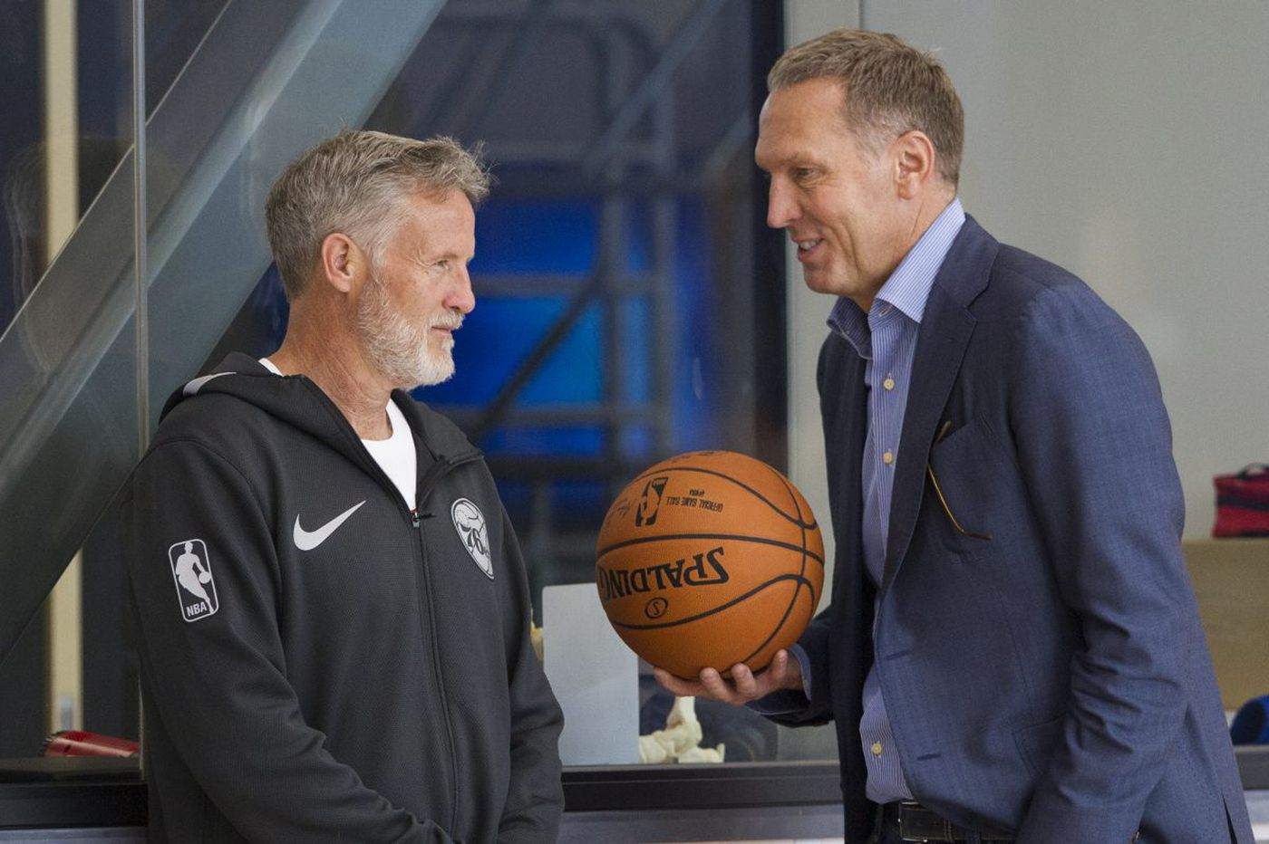 Sixers to talk contract negotiations with coach Brett Brown