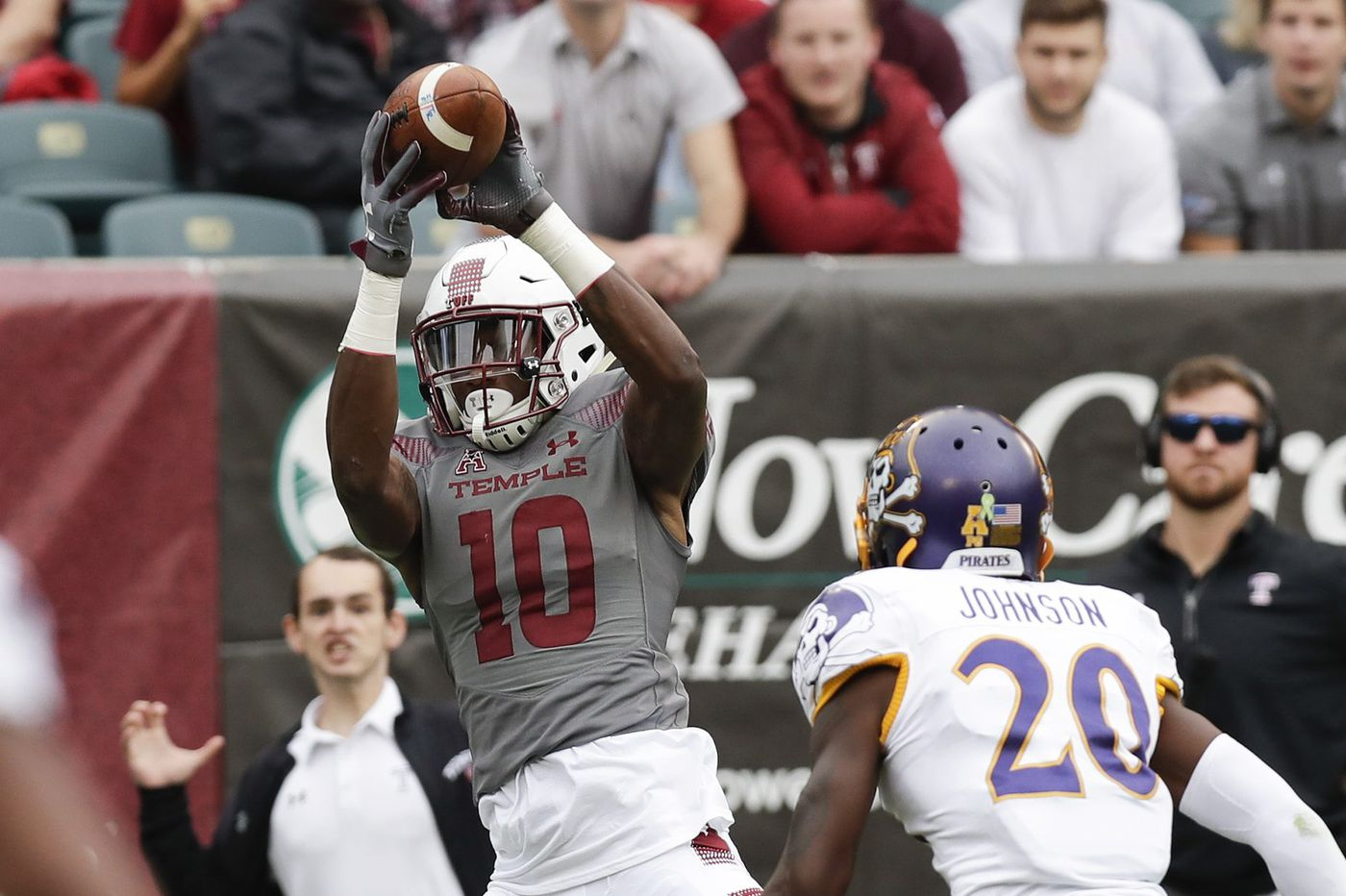 100% authentic 74c53 129cd Temple routs East Carolina, 49-6