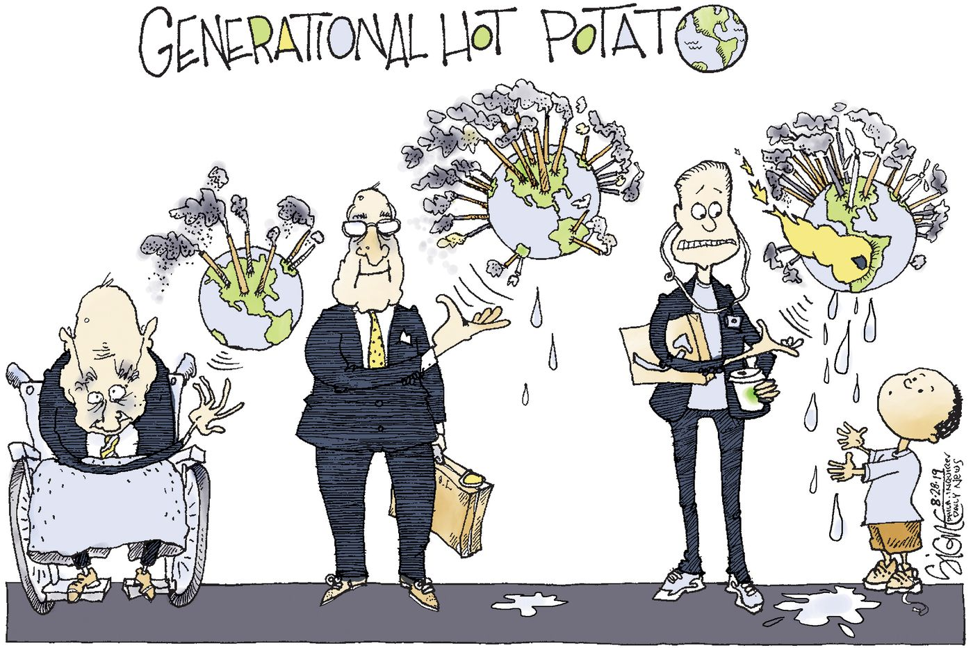 Political Cartoon: Kids! Have we got a hot potato world for you!