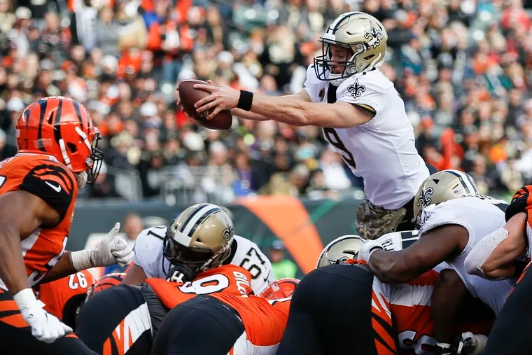 The Eagles will have their hands full with Drew Brees this Sunday.
