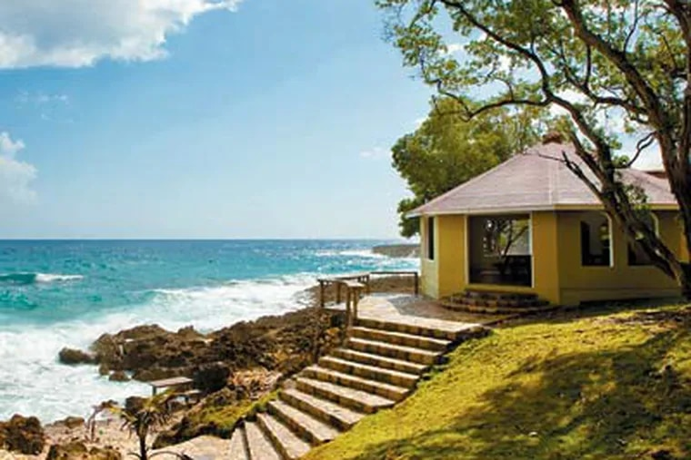 Strawberry Fields Together in Jamaica offers vacation cottages and encourages guests to get acquainted with the community and the environment. (Tiffany Lue-Yen/ For The Inquirer)