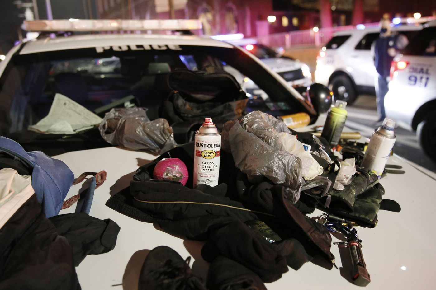 Police ID 7 people arrested in New Year's Eve vandalism of Philly federal building