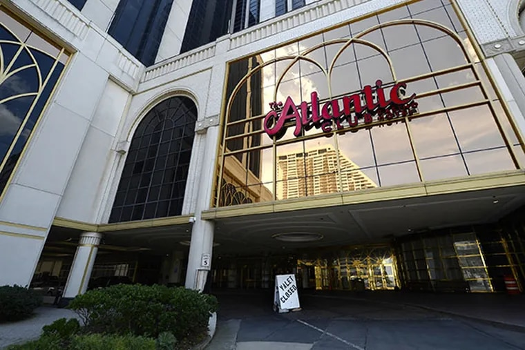 Atlantic City is undergoing a downsizing in casinos as four have either closed or have announced they will close in 2014. The Atlantic Club closed in January. ( CLEM MURRAY / Staff Photographer )