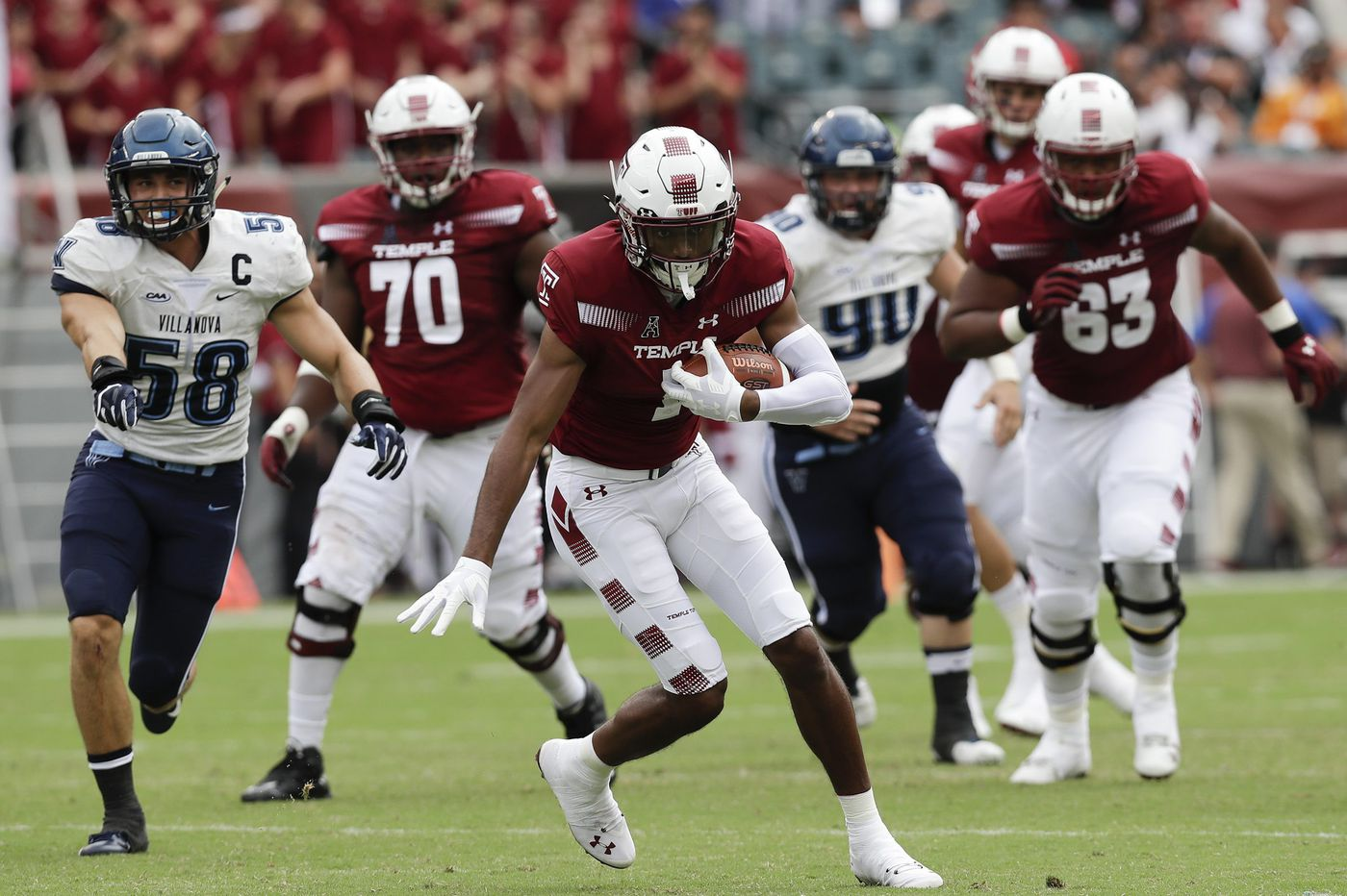 No, Temple hasn't forgotten that football loss to Villanova
