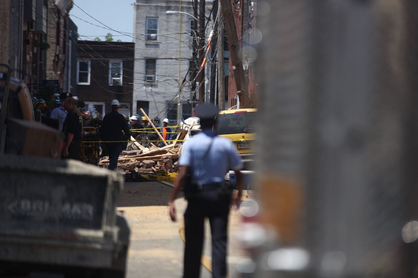 Two vacant South Philadelphia houses collapse; no injuries reported