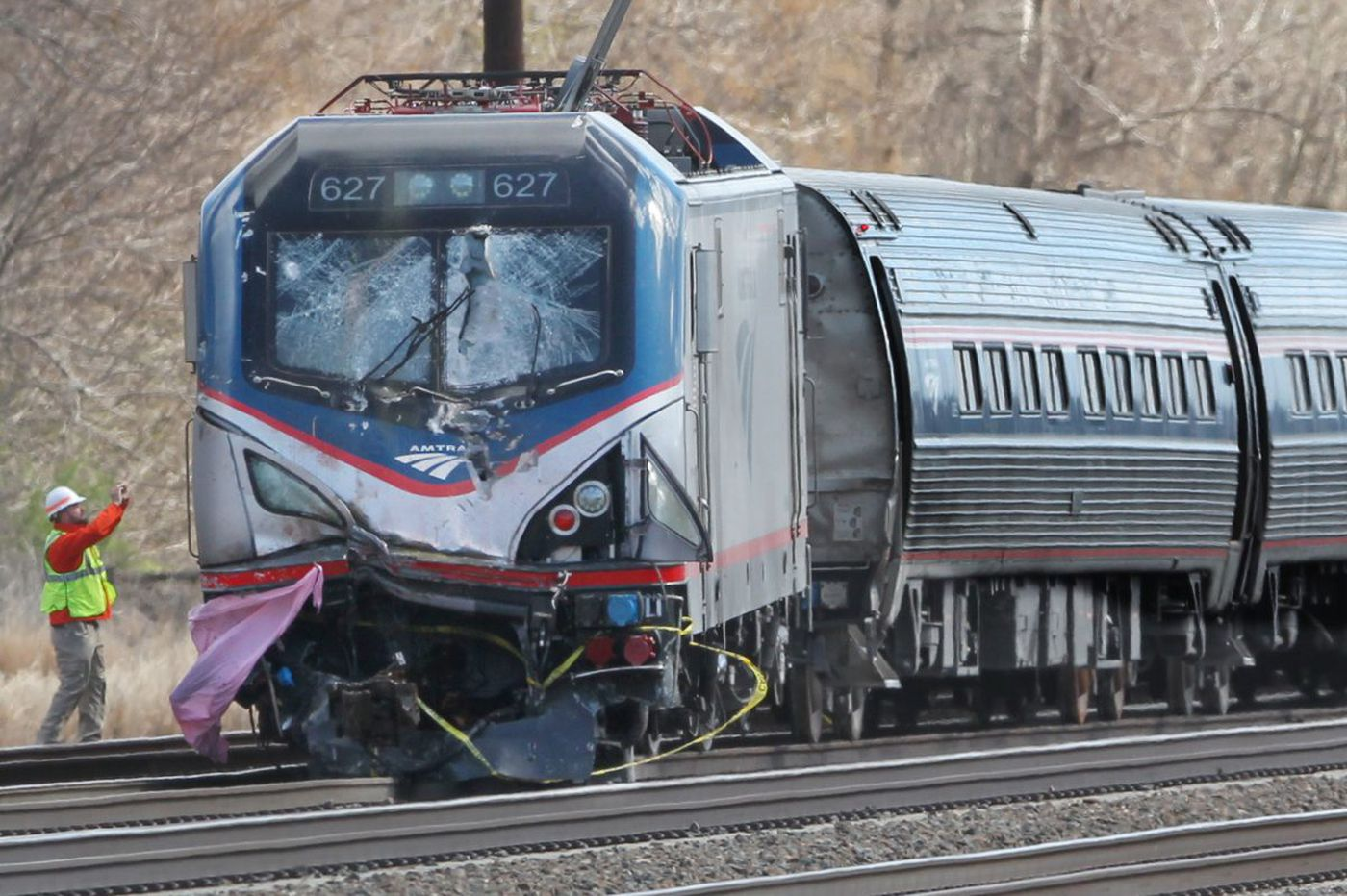 Amtrak's CEO talks to Congress about safety issues raised by 2016 Chester crash