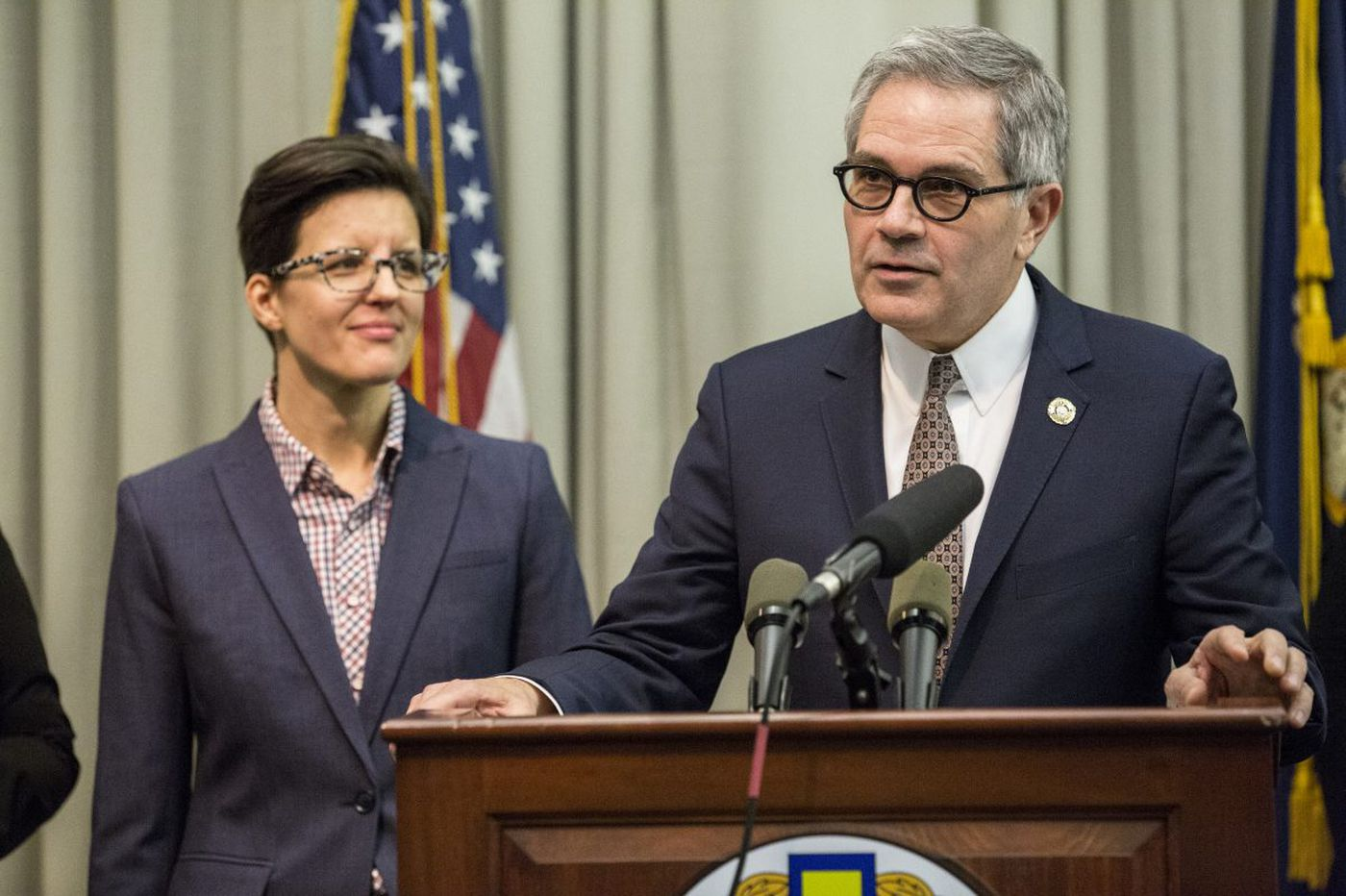 Krasner will seek to prevent deportation of immigrants accused of nonviolent crimes