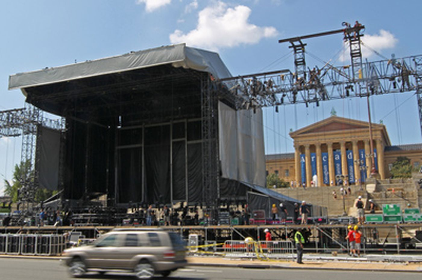 Philadelphia hotels getting a boost from Labor Day weekend concerts