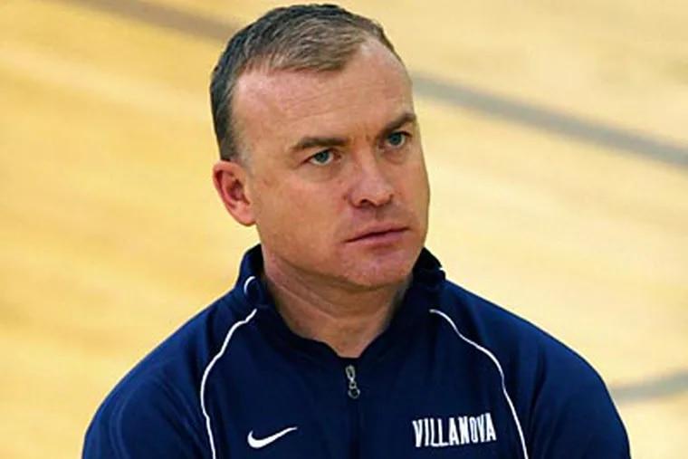 New Penn State coach Pat Chambers previously coached at Villanova, under Jay Wright. (David Swanson/Staff file photo)