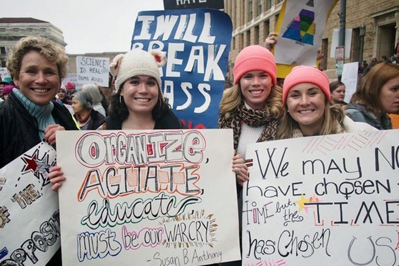 How the first Women's March inspired me to run for office in Pennsylvania   Perspective