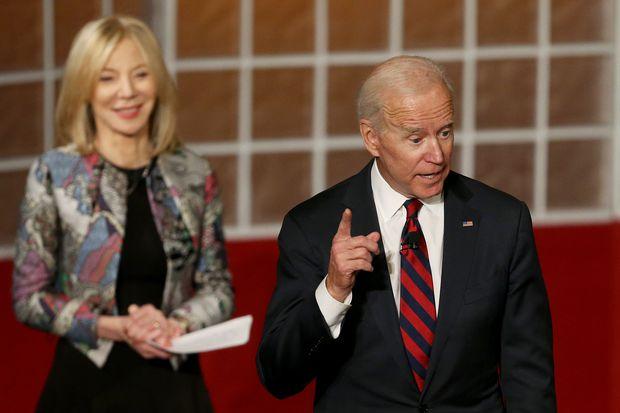 Former VP Joe Biden gives no hint of 2020 plans at Penn