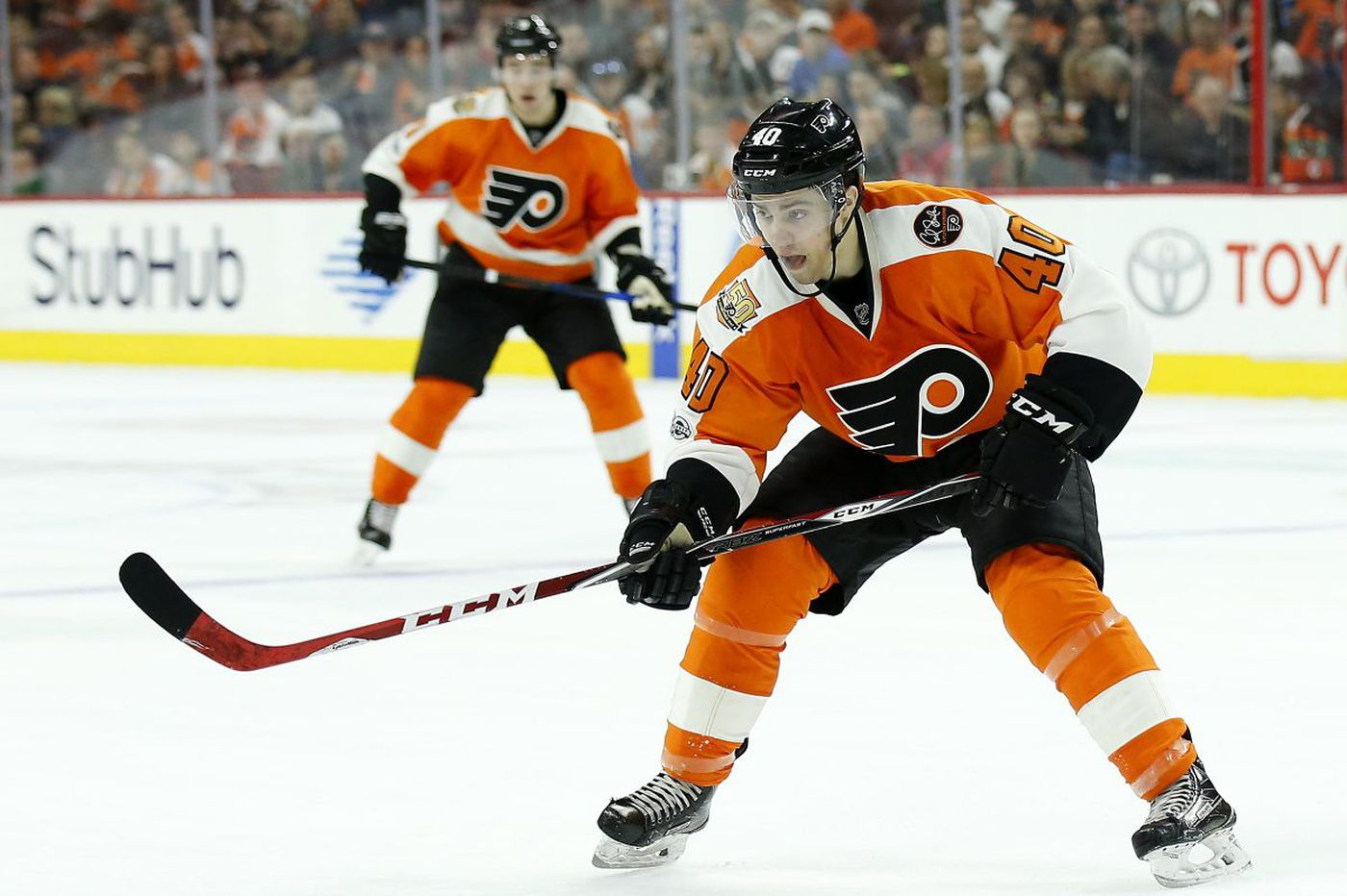 Ron Hextall's patience pays off as Jordan Weal stays with Flyers