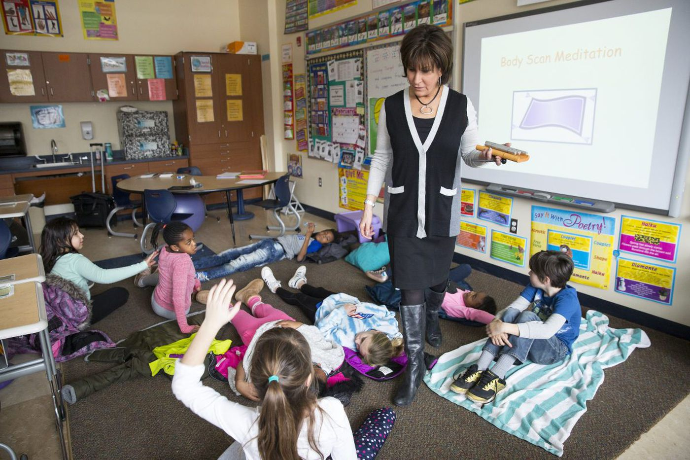 After last year's brawl, Cheltenham schools try mindfulness to keep the peace