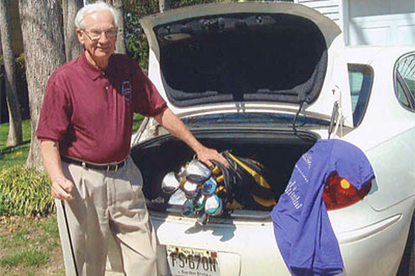 Retiree, 78, to play 50 courses in 50 states