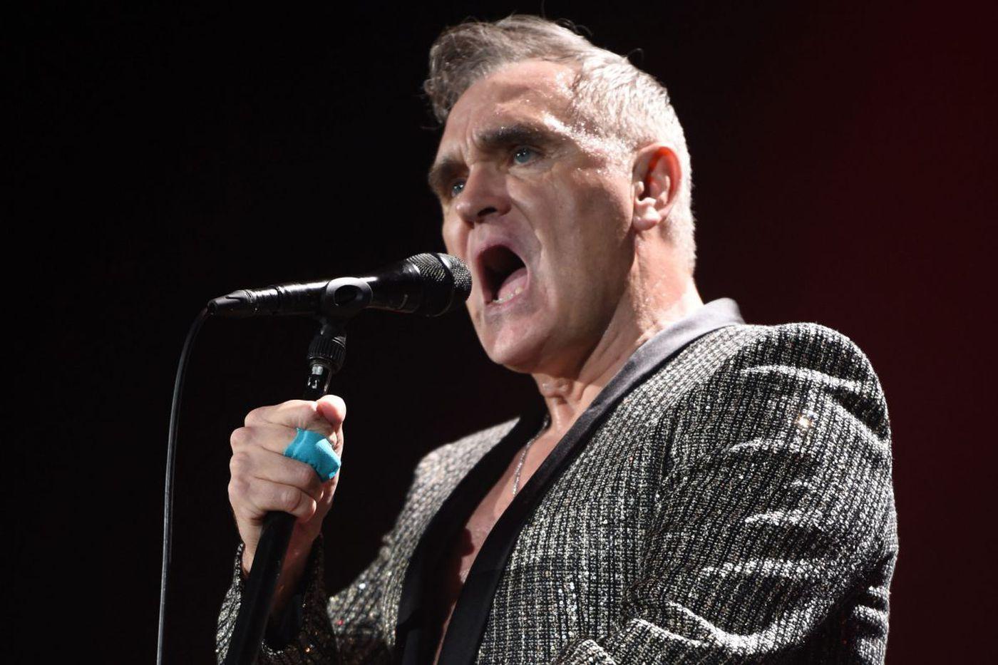 Here's a shocker: Morrissey's Fillmore concert has been postponed