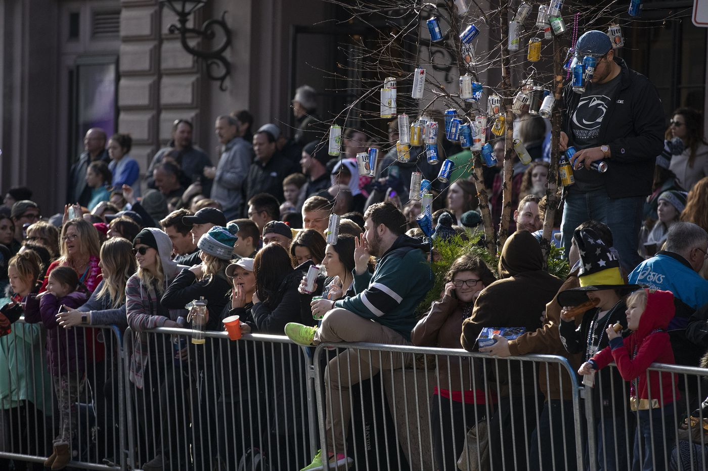 History shows canceling the New Year's Day parade will not stop the Mummers from marching