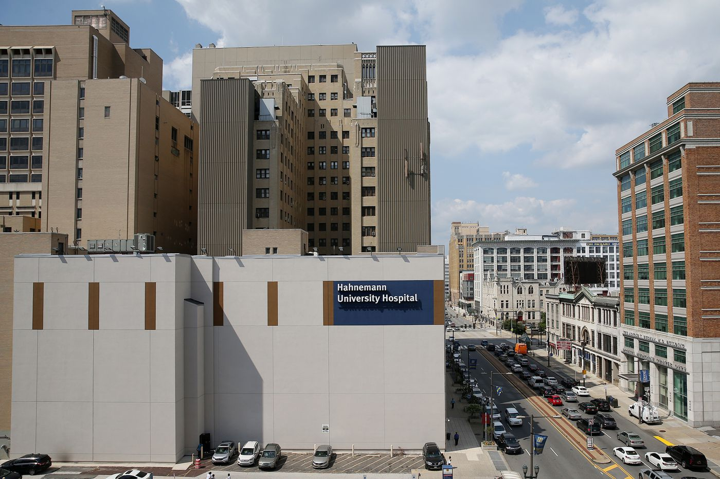 Hahnemann University Hospital gets higher bid from California firm