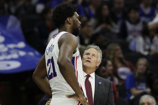 Brett Brown: 'It's going to take until past Christmas' for Sixers to find their rhythm