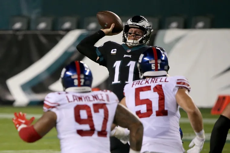 Eagles complete the comeback effort, beat Giants, 22-21, in Thursday Night Football game